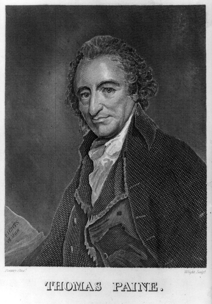 portrait de Thomas Paine