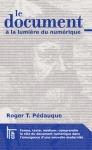 couverture du livre de Roger T. Pédauque